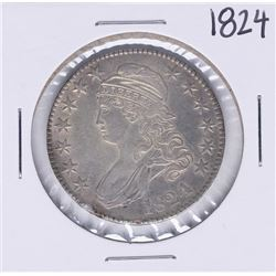 1824/4 Capped Bust Half Dollar Coin