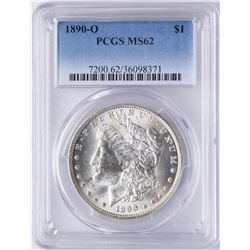 1890-O $1 Morgan Silver Dollar Coin PCGS MS62