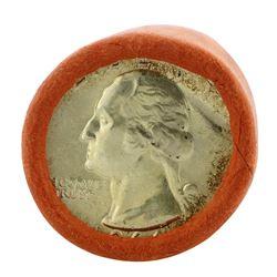 Roll of (40) 1964-D Brilliant Uncirculated Washington Quarter Coins