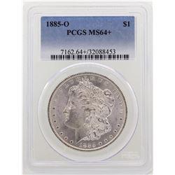 1885-O $1 Morgan Silver Dollar Coin PCGS MS64+