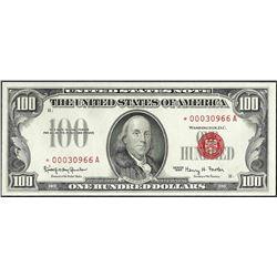 1966 $100 Legal Tender STAR Note