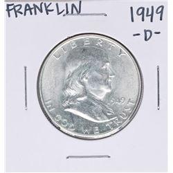1949-D Franklin Half Dollar Coin
