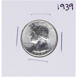 1939 Washington Quarter Coin