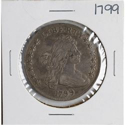 1799 $1 Flowing Hair Silver Dollar Coin