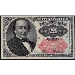 1874 25 Cents Fifth Issue Fractional Currency Note
