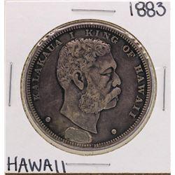 1883 $1 Kingdom of Hawaii Silver Dollar Coin Soldered