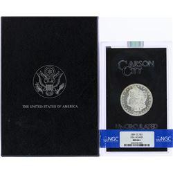 1881-CC $1 Morgan Silver Dollar Coin GSA Hoard NGC MS64+ w/Box