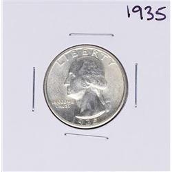 1935 Washington Quarter Coin