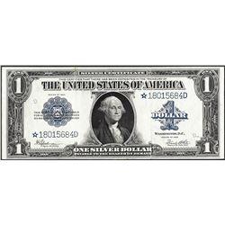 1923 $1 Silver Certificate STAR Note