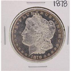 1878 8TF PL $1 Morgan Silver Dollar Coin