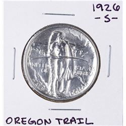 1926-S Oregon Trail Memorial Commemorative Half Dollar Coin