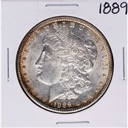 1889 $1 Morgan Silver Dollar Coin Amazing Toning
