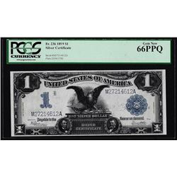 1899 $1 Black Eagle Silver Certificate Note Fr.236 PCGS Gem New 66PPQ