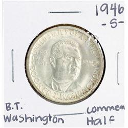 1946-S Booker T. Washington Commemorative Half Dollar Coin