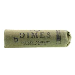 Roll of (50) 1958-D Brilliant Uncirculated Roosevelt Dimes