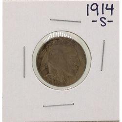 1914-S Buffalo Nickel Coin