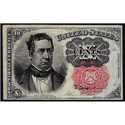 1874 10 Cents Fifth Issue Fractional Currency Note