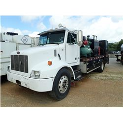 2002 PETERBILT 330 FUEL & LUBE, VIN/SN:2NPNHD7X62M575288 - S/A, CAT 3126 DIESEL ENGINE, 10 SPEED TRA