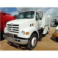 2001 STERLING FUEL & LUBE TRUCK, VIN/SN:2FZAA5AK91AJ38786 - S/A, CAT DIESEL ENGINE, 9 SPEED TRANS, M