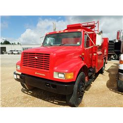 1990 INTERNATIONAL FUEL & LUBE TRUCK, VIN/SN:1HTSDZ6N2LH253186 - IHC, 10 SPEED TRANS, 32K GVWR, MAIN