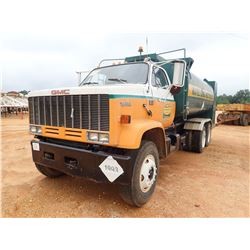 1982 GMC TOPKICK VIN/SN:1GDS7D4Y8CV572853 - T/A, CAT 3208 ENGINE, 8 SPEED TRANS, 31,600LB REARS, 9K