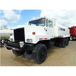 ZELIGSON M51 WATER TRUCK, VIN/SN:M51M2619 - T/A, CAT DIESEL ENGINE, ALLISON A/T, G&K 4000 GAL WATER