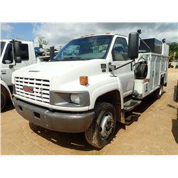 2006 GMC C5500 MECHANICS TRUCK, VIN/SN:1GDE5C1226F417498 -DURAMAX DIESEL ENGINE, A/T, MAINTAINER SER