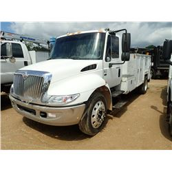 2003 INTERNATIONAL 4300 MECHANICS TRUCK, VIN/SN:3HTMMAAM53N582737 - IHC DIESEL ENGINE, A/T, MAINTAIN