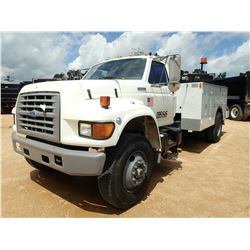 1995 FORD F SERIES MECHANICS TRUCK, VIN/SN:1FDXF80C5SVA62372 - S/A, 210 HP CUMMINS 5.9LTR ENGINE, A/