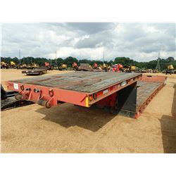"1999 FONTAINE DDRGT-5 LOWBOY, VIN/SN:13ND48292X1587334 - DOUBLE-DROP, DETACH, T/A, 29' WELL, 102"" WI"