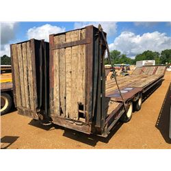 "1998 ETNYRE R35TL-PS-TI LOWBOY TRAILER, VIN/SN:WE111144 - T/A, 33' LENGTH, 102"" WIDTH, DOVETAIL HYD"