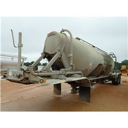 2002 HEIL PNEUMATIC TANK TRAILER, VIN/SN:5HTSN412327J08383 - T/A, 1,040 CU. FT. CAPACITY, 3 COMPARTM