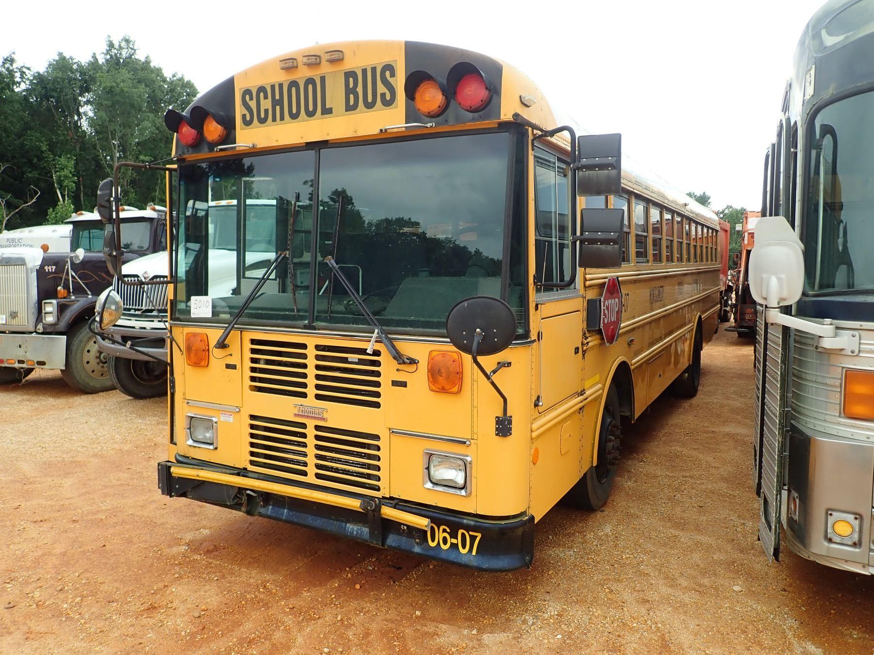 2006 THOMAS SCHOOL BUS, VIN/SN:1T88N3C2261164595 - DIESEL ENGINE, A/T, 48  PASSENGER (COUNTY OWNED)
