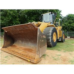 CAT 980G WHEEL LOADER, VIN/SN:2KR04256 - BUCKET, LOAD RITE LR910 SCALE SYSTEM, RIDE CONTROL, CAB, A/