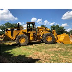 2006 CAT 988H WHEEL LOADER, VIN/SN:BXY00731 - BUCKET, CAB, A/C, 35/65R33 TIRES, METER READING 9,104