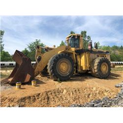 KOMATSU WA800-2 WHEEL LOADER, VIN/SN:10683 - BUCKET, CAB, AC, 65/45-45L-5 TIRES, TIRES CHAINS (SELLI