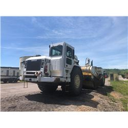 CAT 637G MOTOR SCRAPER, VIN/SN:CEH00365 - CAB, A/C, 37.25-35 TIRES, METER READING 19,719 HOURS (SELL