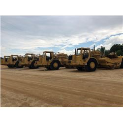 CAT 621F MOTOR SCRAPER, VIN/SN:4SK00758 - CANOPY, 33.25-29 TIRES, METER READING 1,834 HOURS