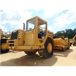 CAT 621F MOTOR SCRAPER, VIN/SN:4SK00690 - CANOPY, 29.5-29 TIRES, METER READING 1,703 HOURS (SHOWING)