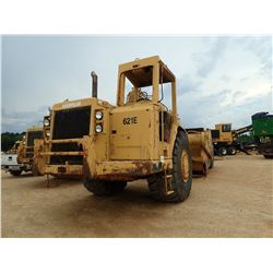 CAT 621E MOTOR SCRAPER, VIN/SN:6AB00921 - CANOPY, 33.25-29 TIRES, METER READING 3,316 HOURS