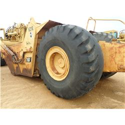 CAT 621E MOTOR SCRAPER, VIN/SN:6AB01153 - CANOPY, 33.25-29 TIRES, METER READING 14,203 HOURS