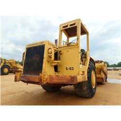 CAT 621B MOTOR SCRAPER, VIN/SN:45P1692 - CANOPY, 29.5-29 TIRES, METER READING 8,643 HOURS