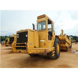 CAT 631D MOTOR SCRAPER, VIN/SN:24W75640 - CAB, A/C, 33.25-35 TIRES, METER READING 7,135 HOURS