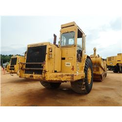 CAT 631D MOTOR SCRAPER, VIN/SN:24W75639 - CAB, A/C, 37.25-35 TIRES, METER READING 17,146 HOURS