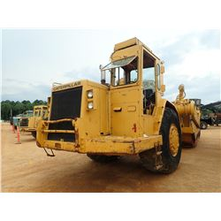 CAT 631D MOTOR SCRAPER, VIN/SN:24W75638 - CANOPY, 33.25 TIRES, METER READING 15,353 HOURS