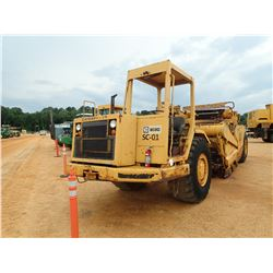 CAT 613C MOTOR SCRAPER, VIN/SN:92X01489 - ELEVATING, CANOPY, 23.5-25 TIRES, METER READING 6,260 HOUR