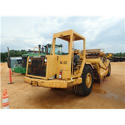 CAT 613C MOTOR SCRAPER, VIN/SN:92X02177 - ELEVATING, CANOPY, 23.5R25 TIRES, METER READING 6,820 HOUR