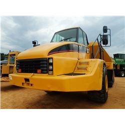2006 CAT 740 WATER WAGON, VIN/SN:B1P00709 - CAB, A/C, KLEIN PK-800 WATER TANK, REAR & INTERMEDIATE D