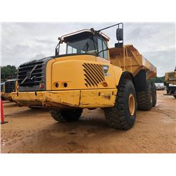 2007 VOLVO A40D ARTICULATED DUMP, VIN/SN:V70214 - CAB, A/T, 29.5R25 TIRES, METER READING 14,105 HOUR
