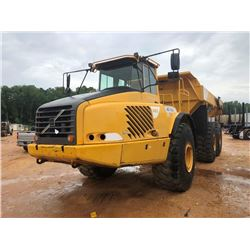 VOLVO A40D ARTICULATED DUMP, VIN/SN:A40DV11387 - TAILGATE, CAB, A/C, 29.5R-25 TIRES, METER READING 1